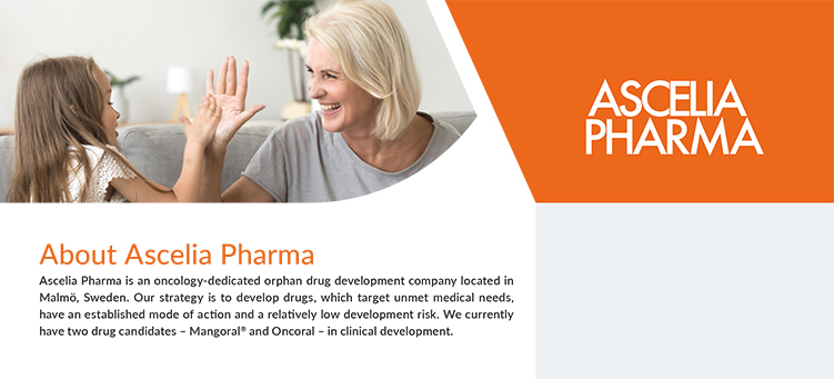 Download our Ascelia Pharma Fact sheet